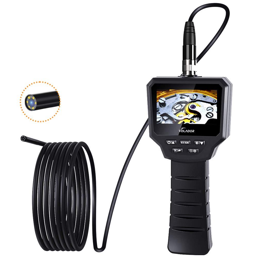 Volador Digitale Industrie Inspektionskamera 3 0 Zoll 3 0 Megapixel 1080p Hd Ips Schwer Lcd Endoskopkamera Eingebaute 1800 Mah Akku Endoskop 5 5mm Gewerbe Industrie Wissenschaft