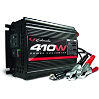 Schumacher XI41B - Inversor de Corriente CC a CA 410 W con (1) Salida de CA de 120 V, (1) Puerto USB de alimentación se…