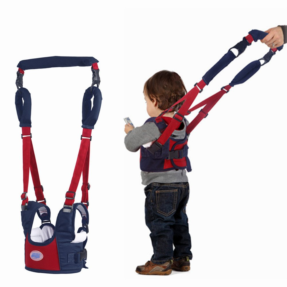 Stand Up and Walking Learning Helper for Baby Wathet Blue 4 in 1 Functional Safety Walking Harness Walker for Baby 7-24 Months Baby Walker Toddler Walking Assistant by Autbye