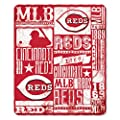 MLB Cincinnati Reds Strength Printed Fleece Throw, 50 x 60-inches