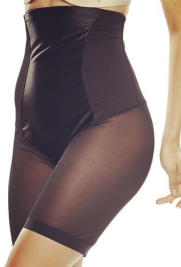 21f5730d29a Franato Women s High Waist Thigh Slimmer Control Panties Cincher Short  Shapewear Coffee