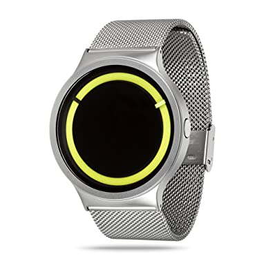 Mens Watches,Creative Personality Fashion Spiral Waterproof Unique Design Cool Wrist Watch Stainless Steel Mesh Watch for Men