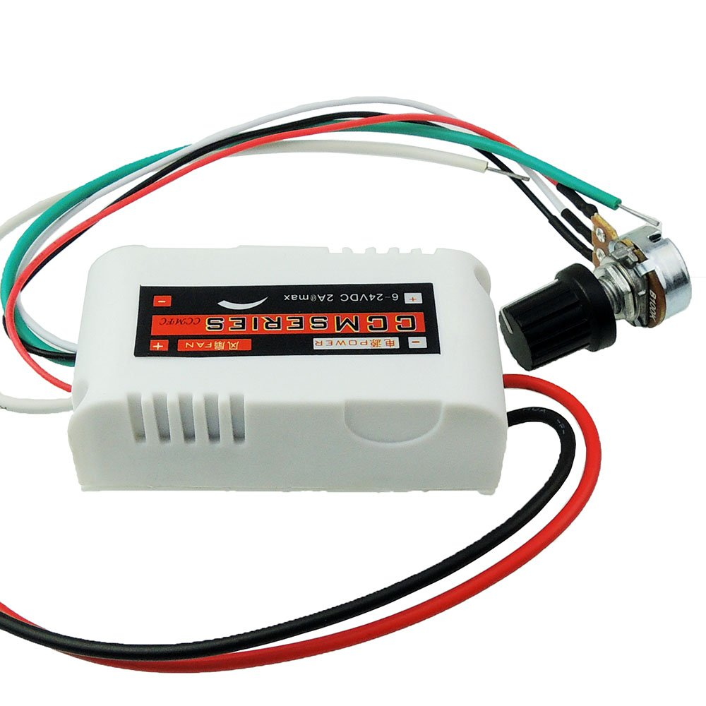 Uniquegoods Ccmfc 12v 2a Dc Motor Speed Controller Adjustable Voltage Switching Variable Switch Pwm