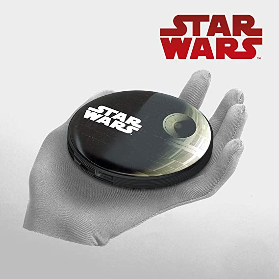 Power Bank 4000 mAh Death Star – Cargador de batería portátil universal original Star Wars, Tribe PBR23001