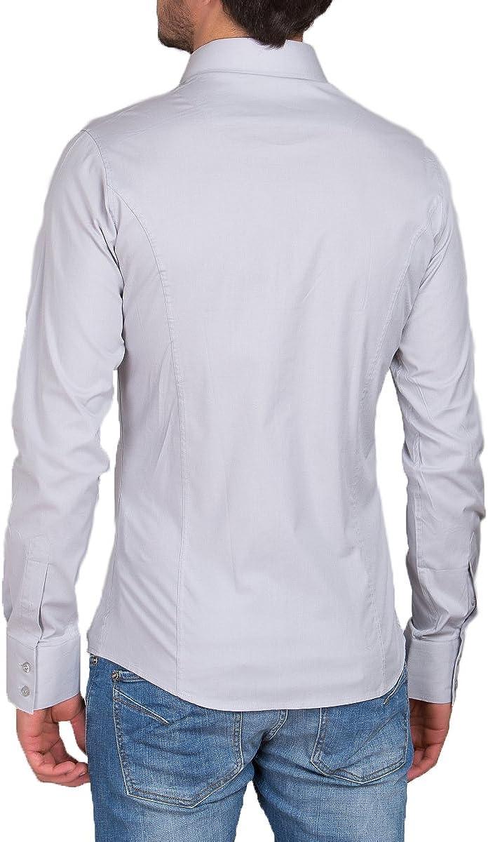 bodas modelo est/ándar Slim Fit tiempo libre Camisa para hombre manga larga para trajes