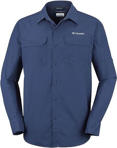Columbia Silver Ridge II-Long Sleeve Shirt Camiseta, Hombre