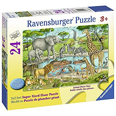 Ravensburger 05542 Watering Hole Delight Floor Puzzles: Toys & Games