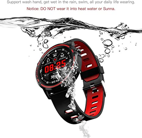 LAIWUSSY L8 Smart Bracelet Fitness Tracker ECG+PPG Blood Pressure Heart Rate Watch IP68 Waterproof Fitness Band Sports Bracelet Smartwatches