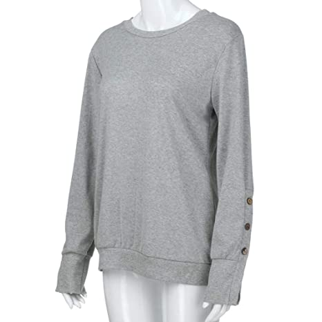 ... Belasdla Dama Camisas De Mujer Blusones Camisetas Largas Juveniles Top Cuello En Tops Camisa Fiesta Elegantes: Amazon.es: Ropa y accesorios
