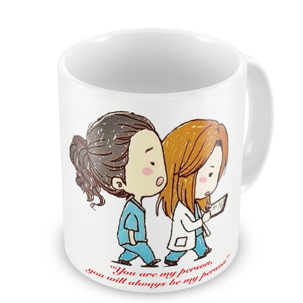 Greys Anatomy Inspired - You\'re My Person - Fun Tasse 313 ml Kaffee ...