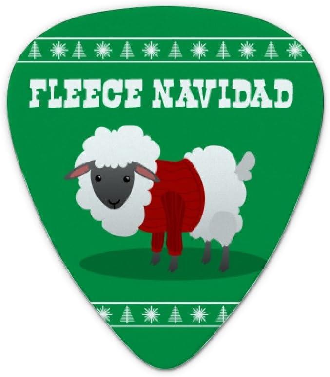 Forro polar feliz Navidad oveja Navidad vacaciones – púas de ...