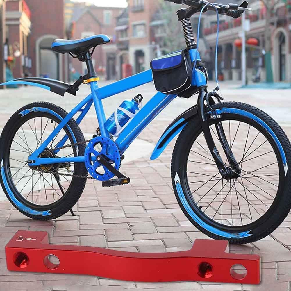 Soporte de Freno de Disco de Bicicleta Calibrador Aleaci/ón de Aluminio Ciclismo Soporte de Freno con Tornillos Arandelas para Bicicleta de Monta/ña VGEBY1 Adaptador de Disco de Bicicleta