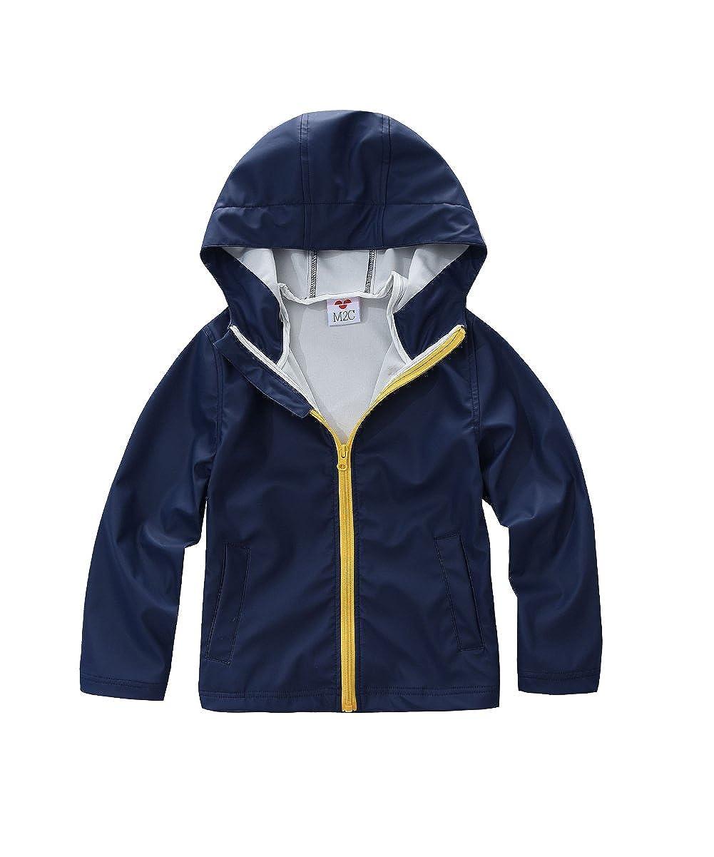 M2C Boys & Girls Hooded Waterproof Rain Jackets CNJP13CAB