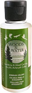 product image for Badger Air-Brush Co. 4-Ounce Woods and Water Airbrush Ready Water Based Acrylic Paint, Top Coat Matte