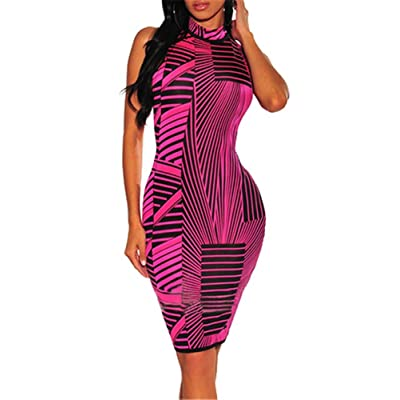 Adogirl Women's Short Sleeve Bodycon Dress - Sexy Club Outfits Party Pencil Midi Dresses at Amazon Women's Clothing store