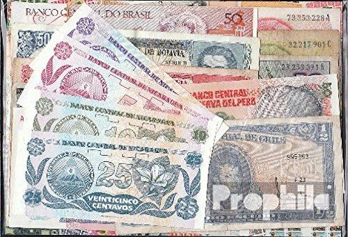 America 15 diversi Banconote (Banconote ) Prophila Collection