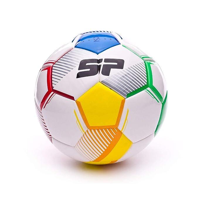 SP Fútbol Axeler Futsal II, Balón, Blanco-Multicolor: Amazon.es ...