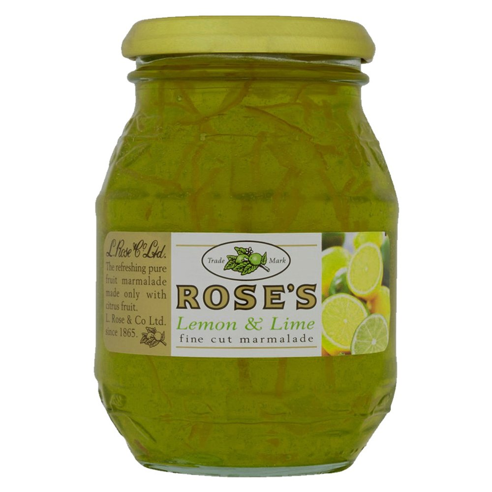 Rose's Lemon & Lime Fine Cut Marmalade (454g) - Pack of 2