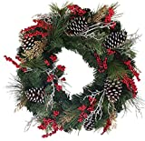 Somerset Winter Red Berry Wreath 24