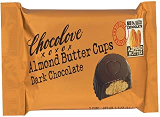 product image for Chocolove Almond Butter Cups Dark Chocolate, 1.2 oz