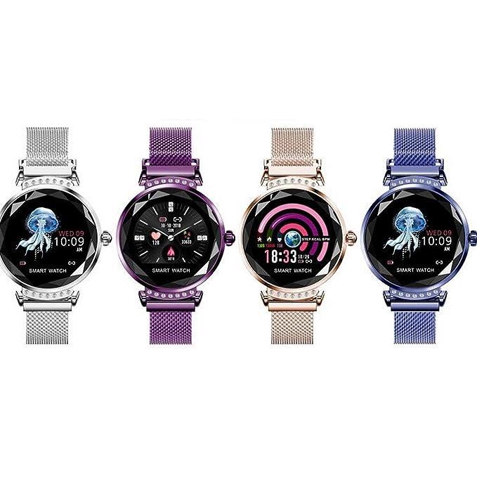 Socialism H2 Smart Watch Mujer 3D Diamond Glass Frecuencia ...