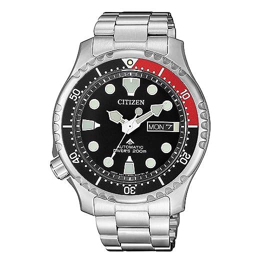 Citizen NY0085-86EE PROMASTER Marine - Reloj de Buceo automático: Amazon.es: Relojes