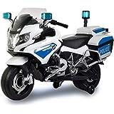 PlayArena Ride on BMW Licensed Police Bike White