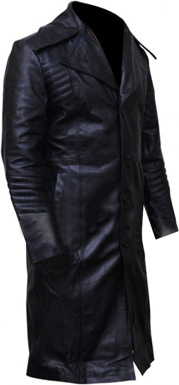 The Bourne Legacy Stylish Custom Faux Leather Long Trench Coat