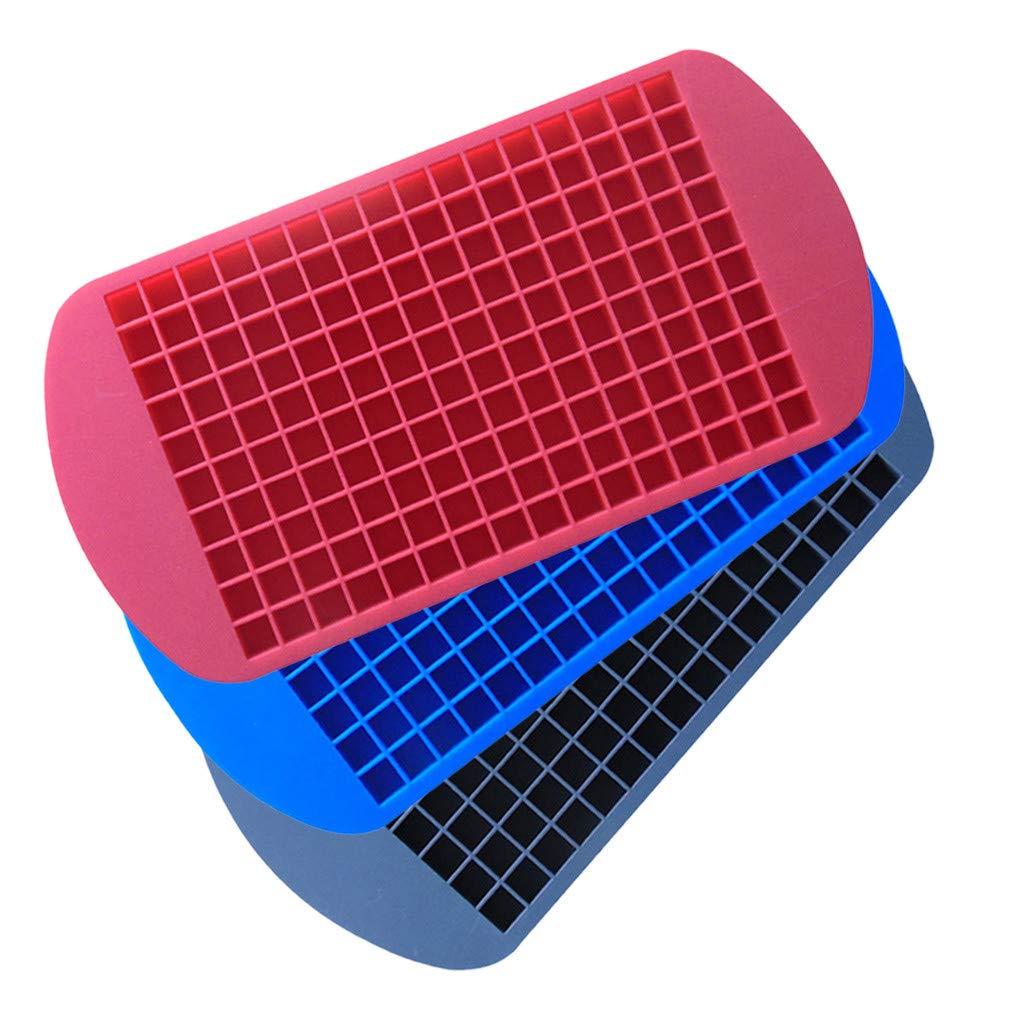 Amazon.com: UMFun - 3 cubitos de hielo de silicona para ...