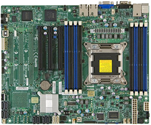Motherboard Ethernet Supermicro (Supermicro DDR3 1066 LGA 2011 Server Motherboard X9SRI-F-O)