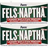 Fels Naptha Laundry Soap Bar & Stain Remover - 5.5 oz - 2 pk