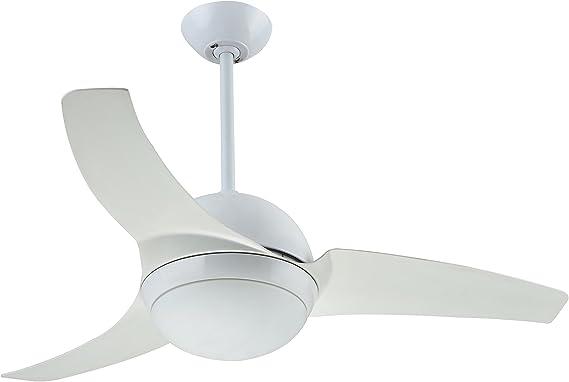 Interfan Agung Ventilador de techo, Blanco: Amazon.es: Iluminación