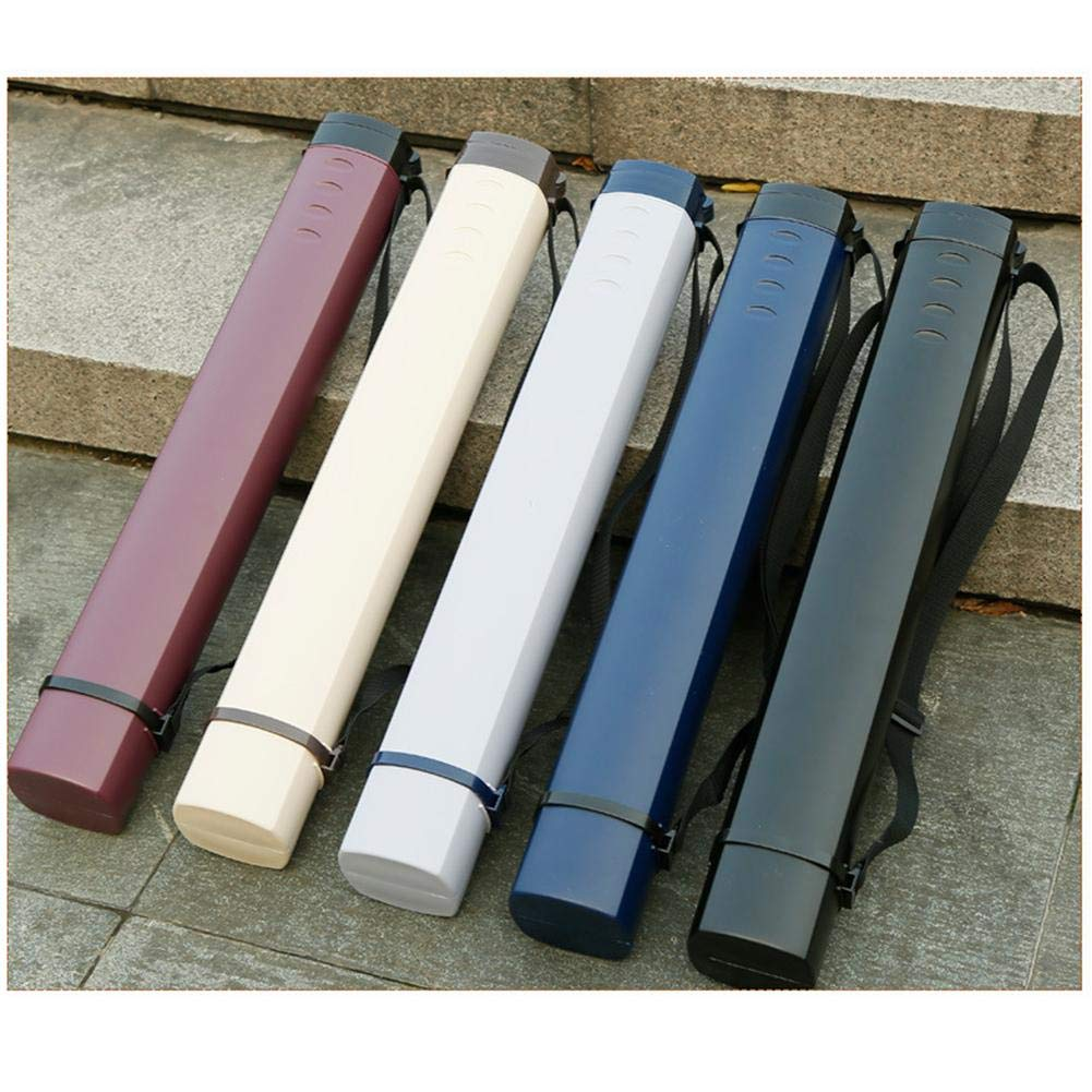 NEW EXTENDABLE WITH CARRY HANDLE PORTFOLIO TUBE STORAGE BOX DRAWING PRINT HOLDER