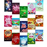 15 Double-Sided Seasonal Garden Flags Set, 12x18 inches, Home and Garden Flag Set for Outdoors, Nice Decorative Flags for Outside, and a Great Gift Too!