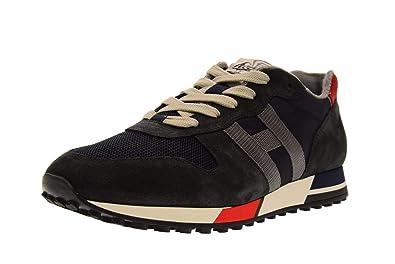 Hogan Chaussures Homme Baskets Basses HXM3830AN50JHM6EEC H383 Taille  11(45.5) Bleu 7e77a4239c15