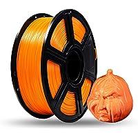 Flashforge® PLA 1.75mm 3D Printer Filaments 1kg Spool-Dimensional Accuracy +/- 0.05mm for Creator Series (Orange)