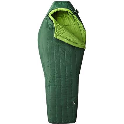 Mountain Hardwear Hotbed Flame - Sacos de dormir - verde Modelo izquierda 2017