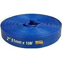 Pack of 1 - Min 3yr Warranty Bore x 10 Metres Long Yellow Advanced Heavy Duty Layflat Hose 25mm 1