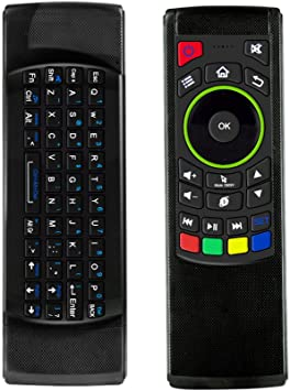 leshp 2. 4 G Air ratón IOS Fly Ratón Mini teclado inalámbrico teclado ratón Air infrarrojos