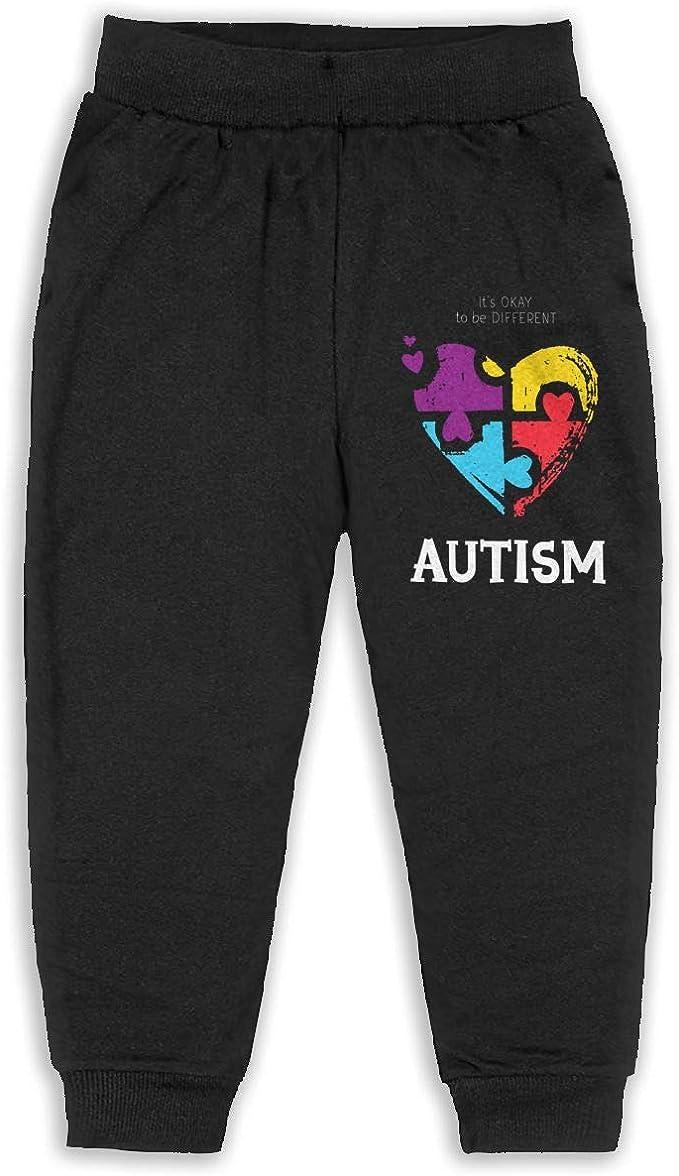 Classic Boys Girls Jersey Pant Autism Awareness Unisex Baby Sweatpants