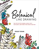 img - for Botanical Line Drawing: 200 Step-by-Step Flowers, Leaves, Cacti, Succulents, and Other Items Found in Nature book / textbook / text book