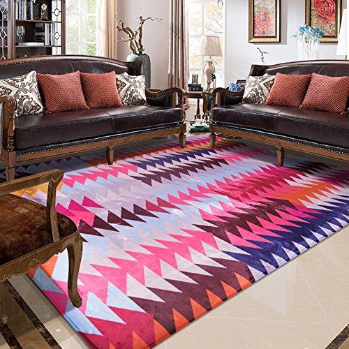 Fashion Geometry Home Rugs - MeMoreCool Nine Patterns No Fading Anti ...