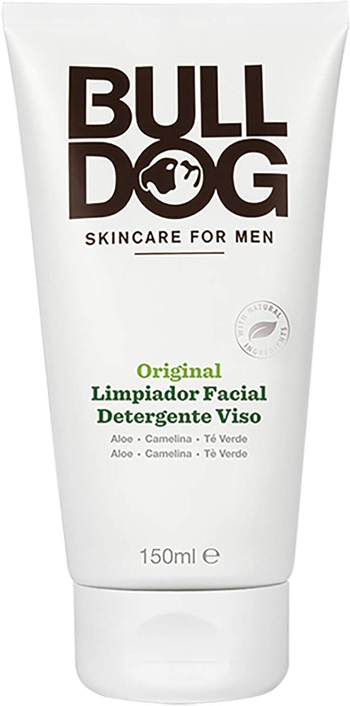 Bulldog Cuidado Facial para Hombres - Gel Limpiador Facial , Fórmula Original , Cuidado Masculino , 150 ml