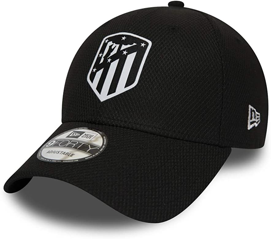 Athletico Madrid 2019 Gorra del Equipo Negro Black - Diamond Era ...