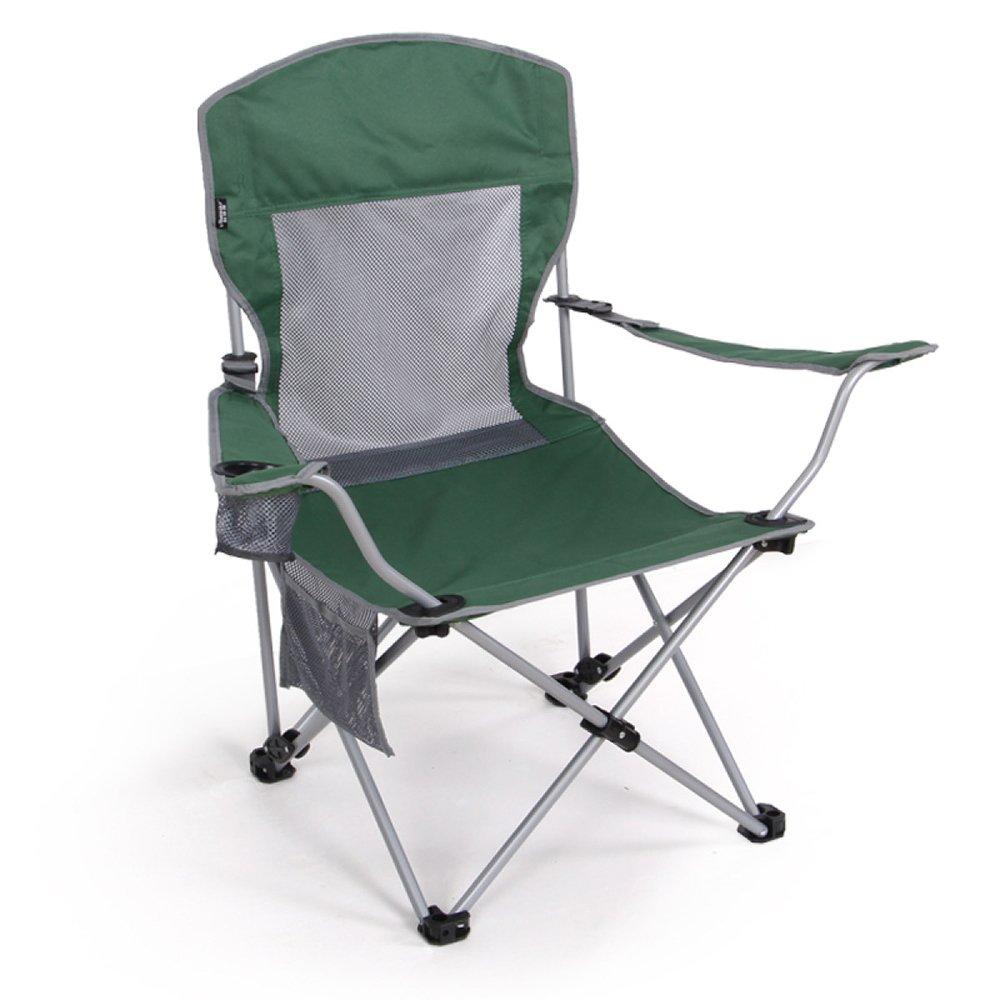 ANHPI Portable Chaise Pliante Chaise Extérieure Tabouret Camping Chaise De Plage Chaise De Pêche Chaise Longue Soleil,vert vert -