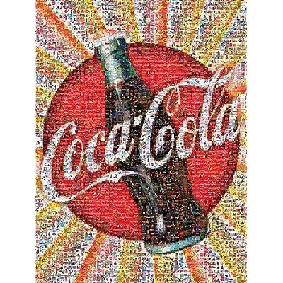 Buffalo Games Coca Cola Photomosaic 1000 Piece Jigsaw Puzzle By Buffalo Games By Buffalo Games