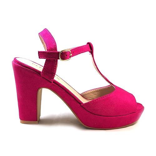 00ea9d2ed3b M1290 Talla Zapatos Morado Petit Sandalias Fiesta es Bela Amazon  Complementos Y Color 41 Buganvilla qWUcqwtRf