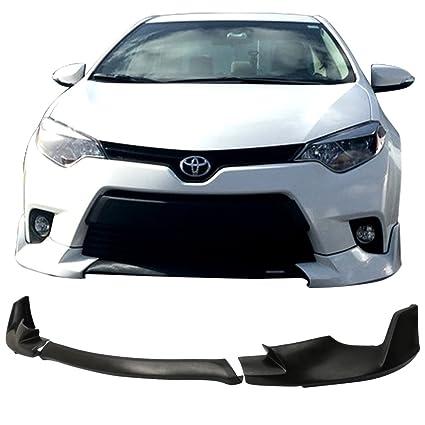 Toyota 2016 Models >> Amazon Com Front Bumper Lip Fits 2014 2016 Toyota Corolla L