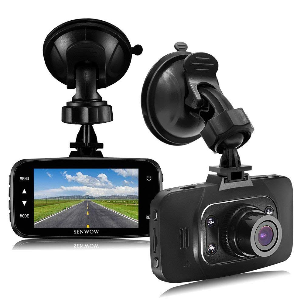 SENWOW Dash Cam 1080P Full HD Car Camera 2.7