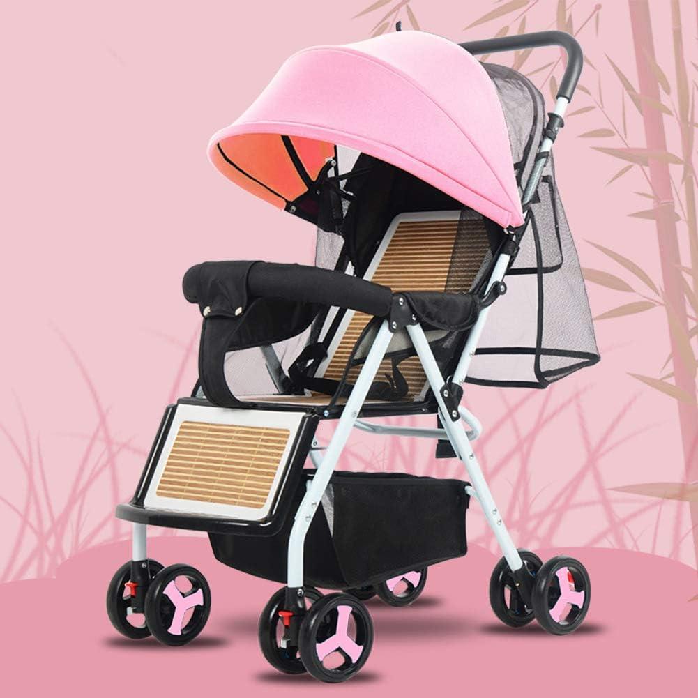 Silla Plegable Ligera,stroller Lavable Baby Discovery Four Seasons Universal Baby Stroller-b